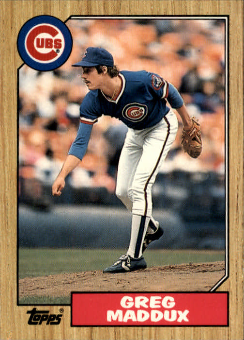 1987 Topps Traded #70T Greg Maddux XRC