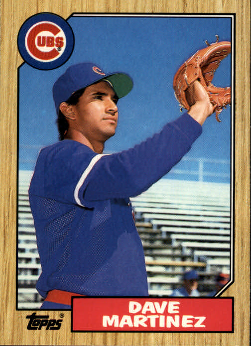 1987 Topps Traded #73T Dave Martinez XRC