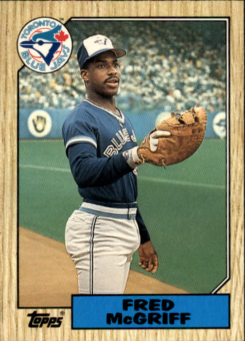 1987 Topps Traded #74T Fred McGriff