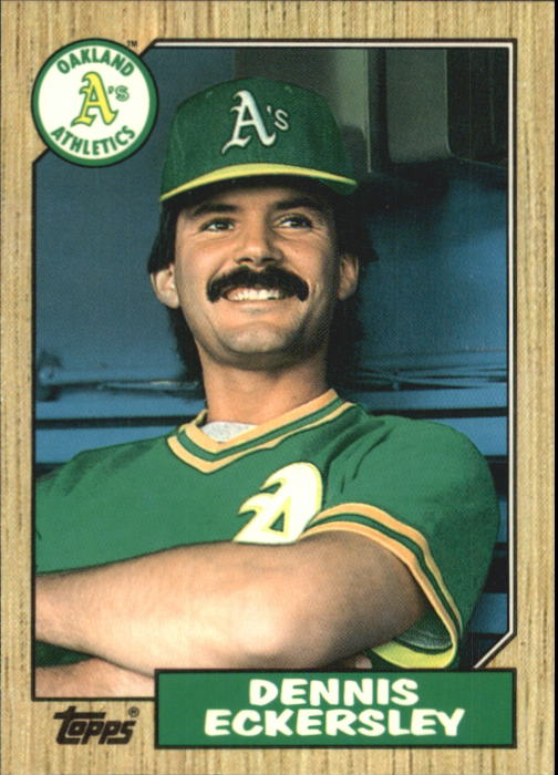 1987 Topps Traded Tiffany #31T Dennis Eckersley