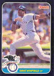 1987 Donruss All-Stars #2 Dave Winfield