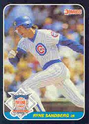 1987 Donruss All-Stars #13 Ryne Sandberg