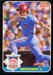 1987 Donruss All-Stars #17 Mike Schmidt