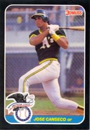 1987 Donruss All-Stars #21 Jose Canseco