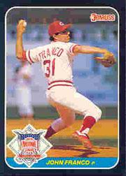 1987 Donruss All-Stars #22 John Franco