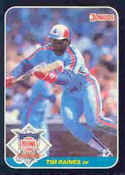 1987 Donruss All-Stars #36 Tim Raines