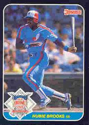 1987 Donruss All-Stars #48 Hubie Brooks