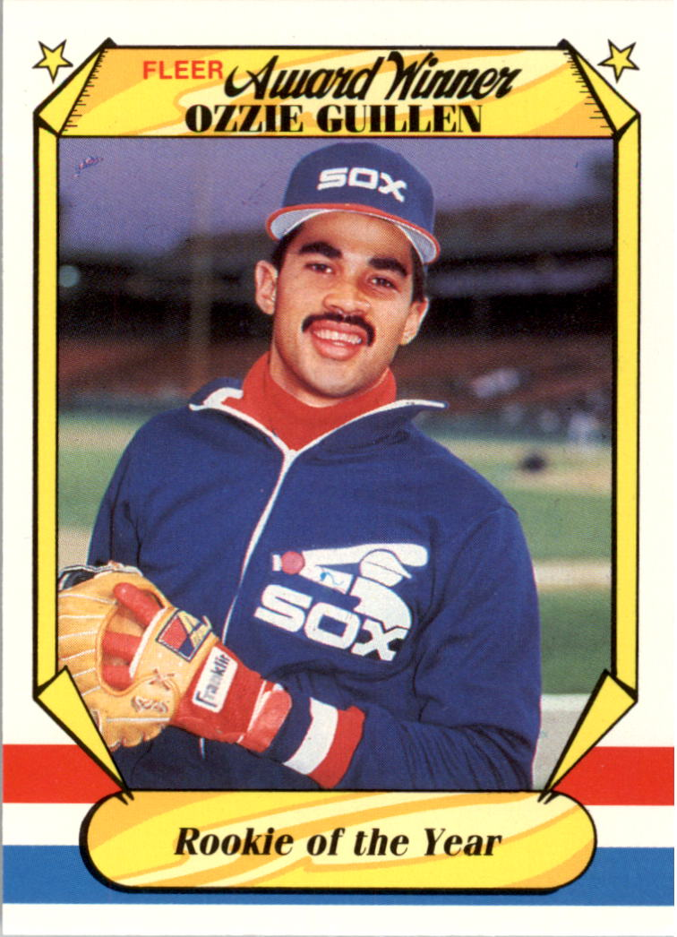1987 Fleer Award Winners #17 Ozzie Guillen