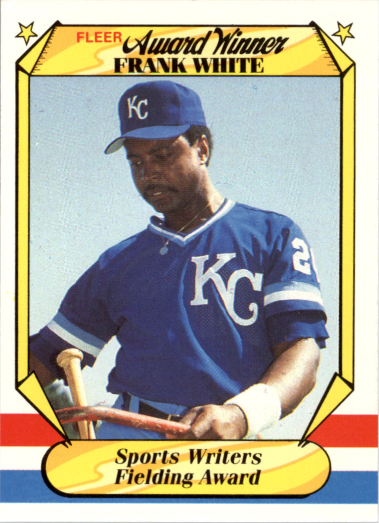 1987 Fleer Award Winners #42 Frank White