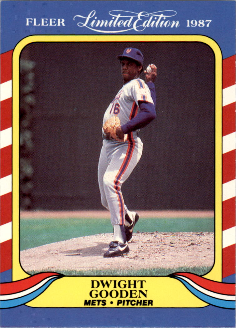1987 Fleer Limited Edition #18 Dwight Gooden