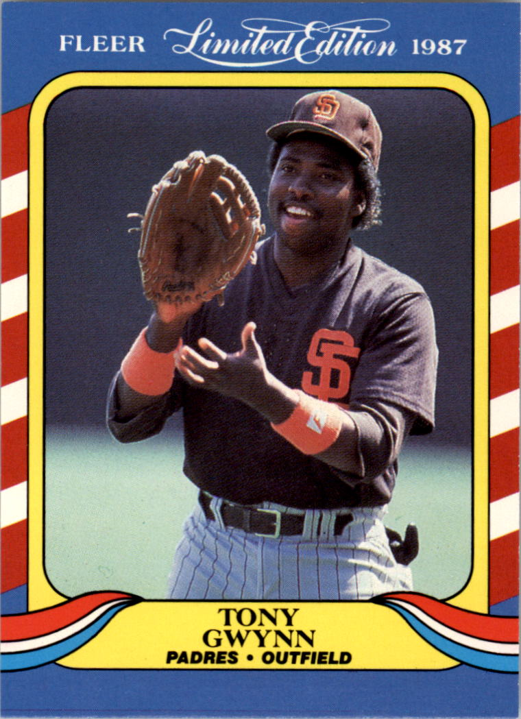 1987 Fleer Limited Edition #19 Tony Gwynn