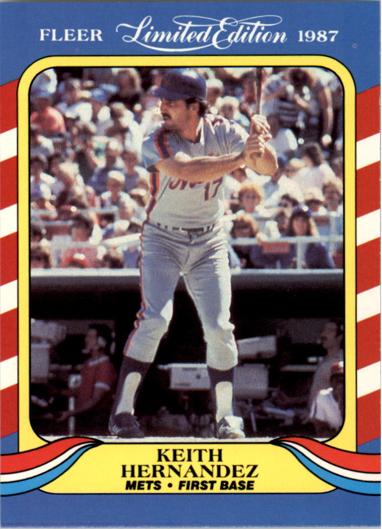 1987 Fleer Limited Edition #20 Keith Hernandez