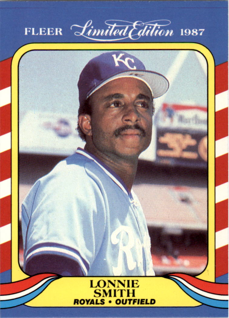 1987 Fleer Limited Edition #40 Lonnie Smith