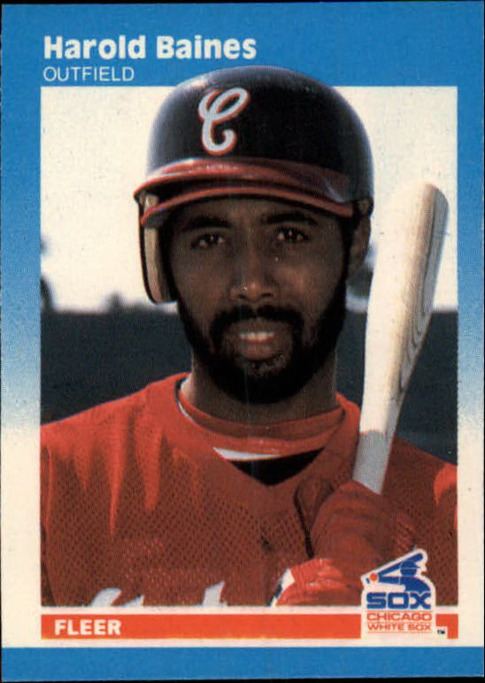 1987 Fleer Mini #3 Harold Baines