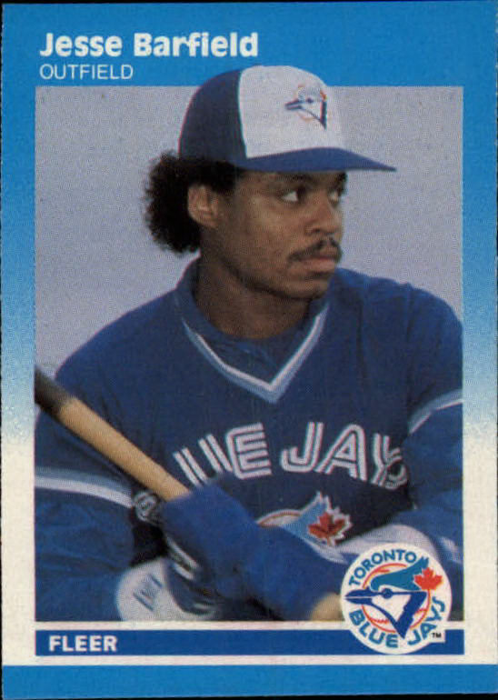 1987 Fleer Mini #4 Jesse Barfield