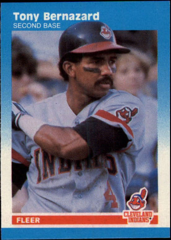 1987 Fleer Mini #8 Tony Bernazard