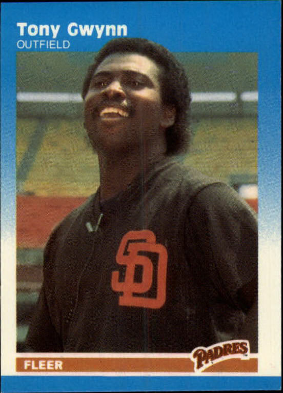 1987 Fleer Mini #50 Tony Gwynn