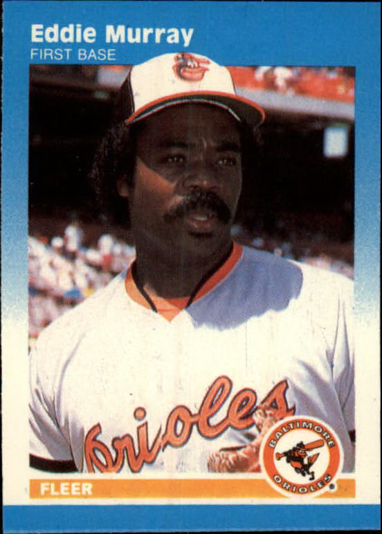 1987 Fleer Mini #75 Eddie Murray front image