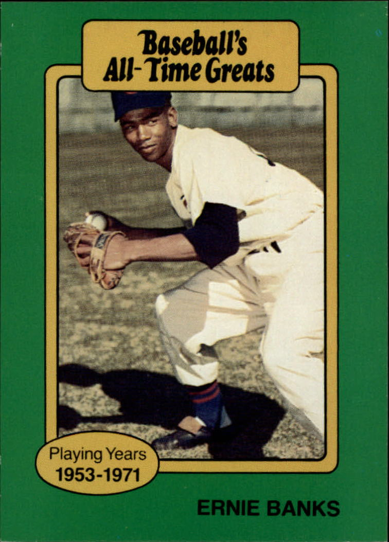 1987 Hygrade All-Time Greats #4 Ernie Banks