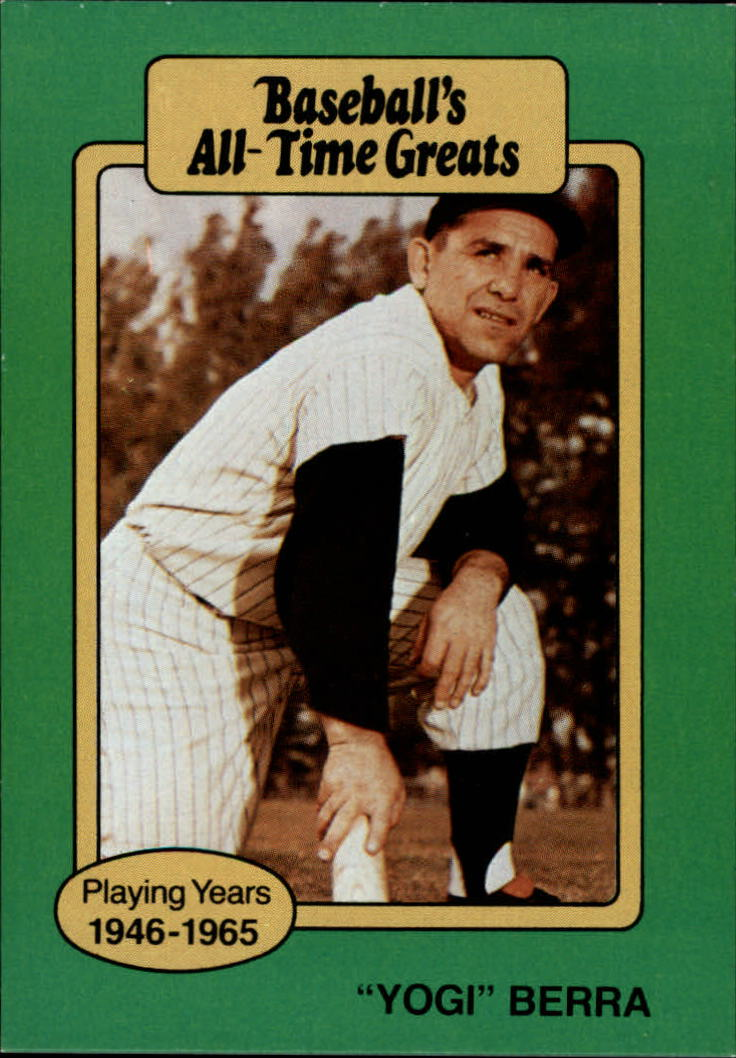 1987 Hygrade All-Time Greats #5 Yogi Berra front image