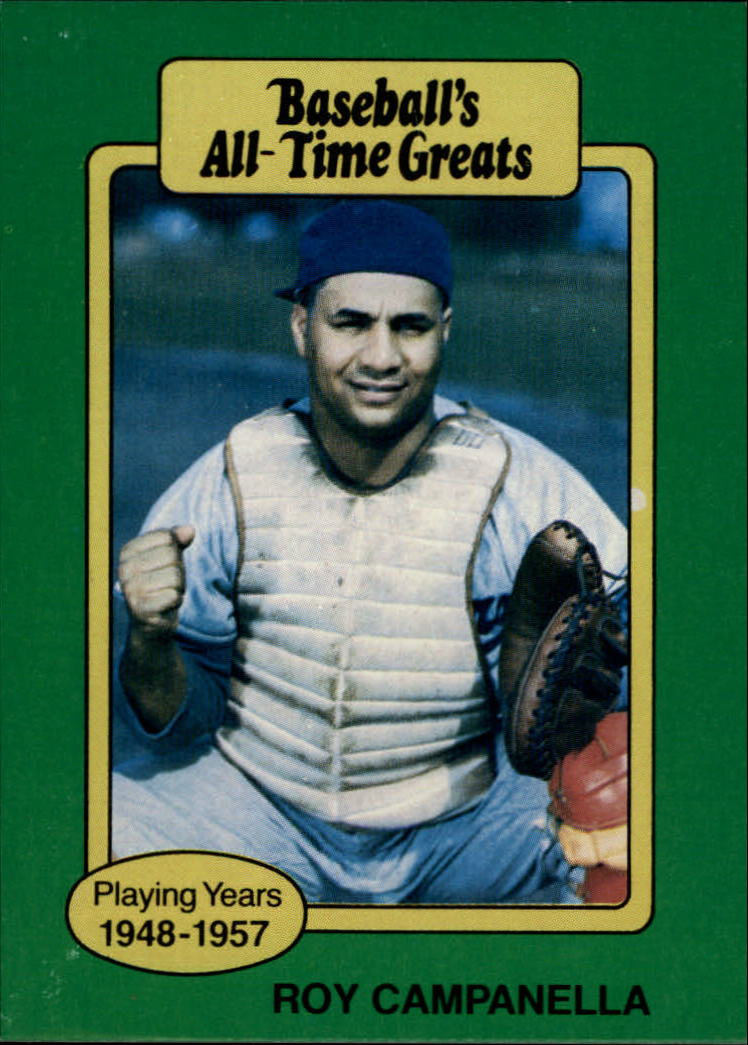 1987 Hygrade All-Time Greats #16 Roy Campanella