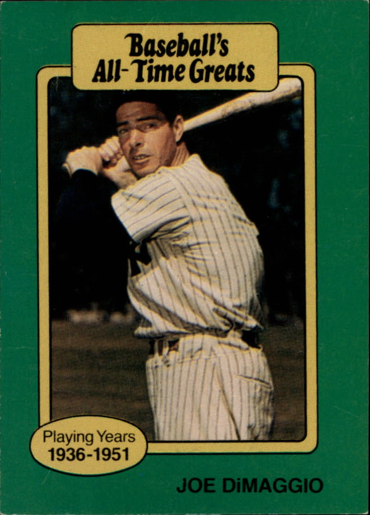 1987 Hygrade All-Time Greats #15 Joe DiMaggio
