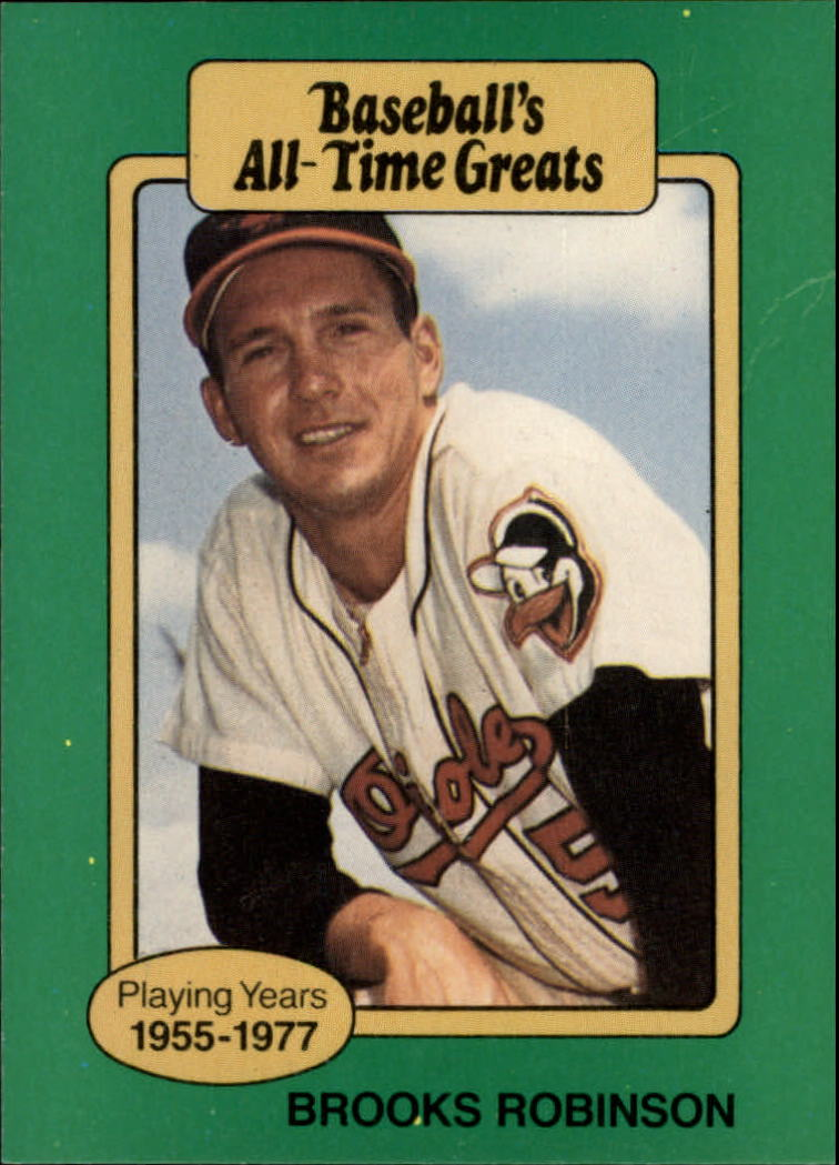 1987 Hygrade All-Time Greats #78 Brooks Robinson