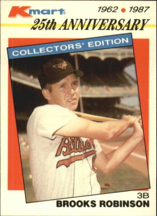 1987 K-Mart #9 Brooks Robinson
