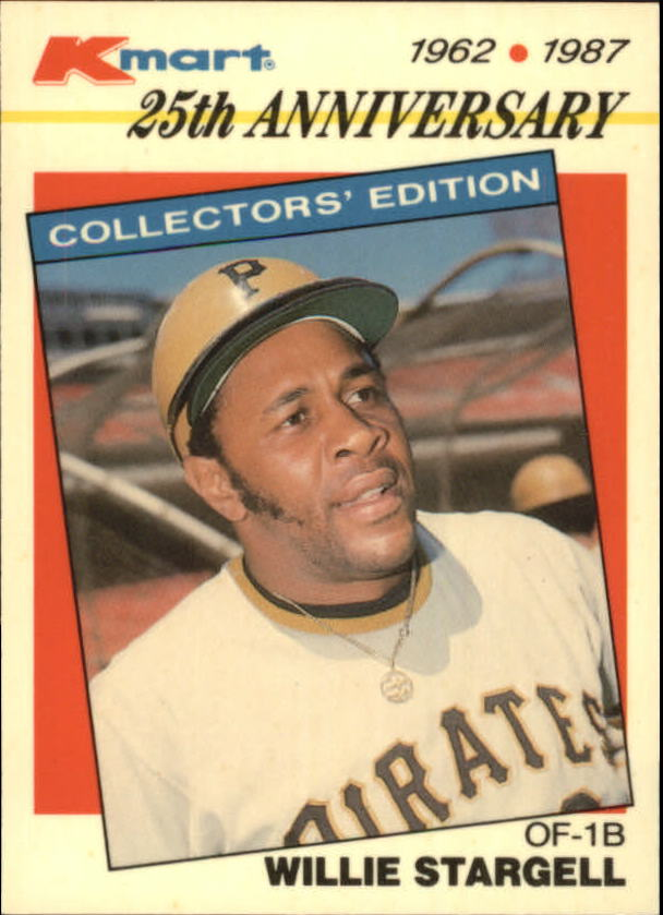 1987 K-Mart #22 Willie Stargell