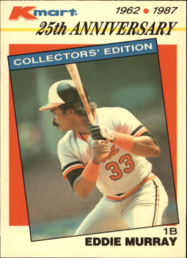1987 K-Mart #30 Eddie Murray