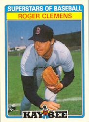 1987 Kay-Bee #10 Roger Clemens
