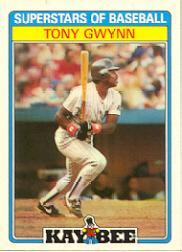 1987 Kay-Bee #15 Tony Gwynn