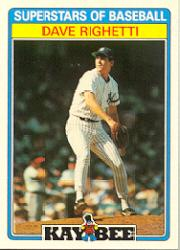 1987 Kay-Bee #27 Dave Righetti