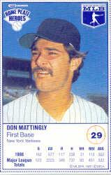 1987 Kraft Foods #29 Don Mattingly
