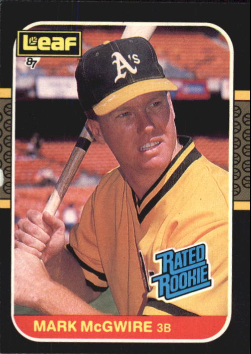 1987 Leaf/Donruss #46 Mark McGwire RR