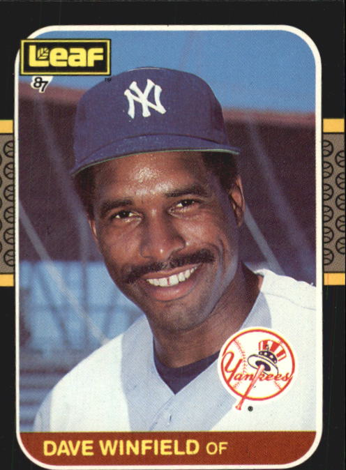 1987 Leaf/Donruss #70 Dave Winfield