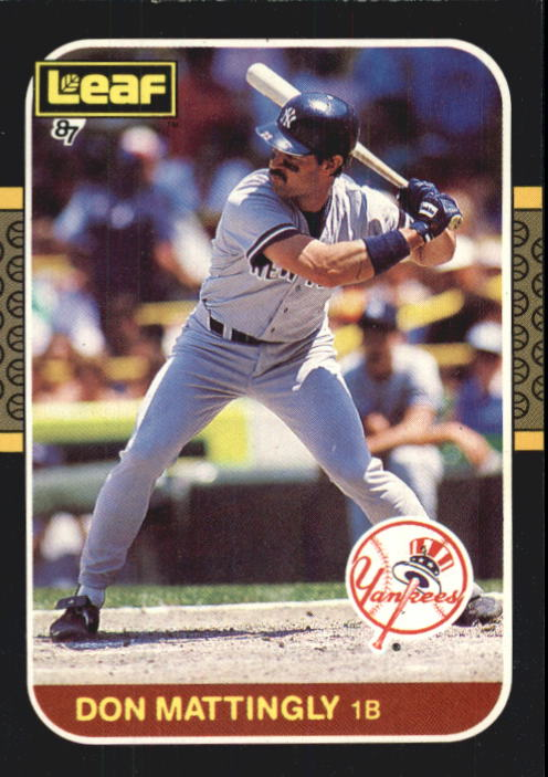 1987 Leaf/Donruss #150 Don Mattingly