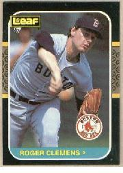 1987 Leaf/Donruss #190 Roger Clemens