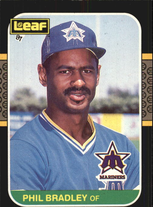 1987 Leaf/Donruss #200 Phil Bradley