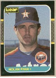 1987 Leaf/Donruss #257 Nolan Ryan