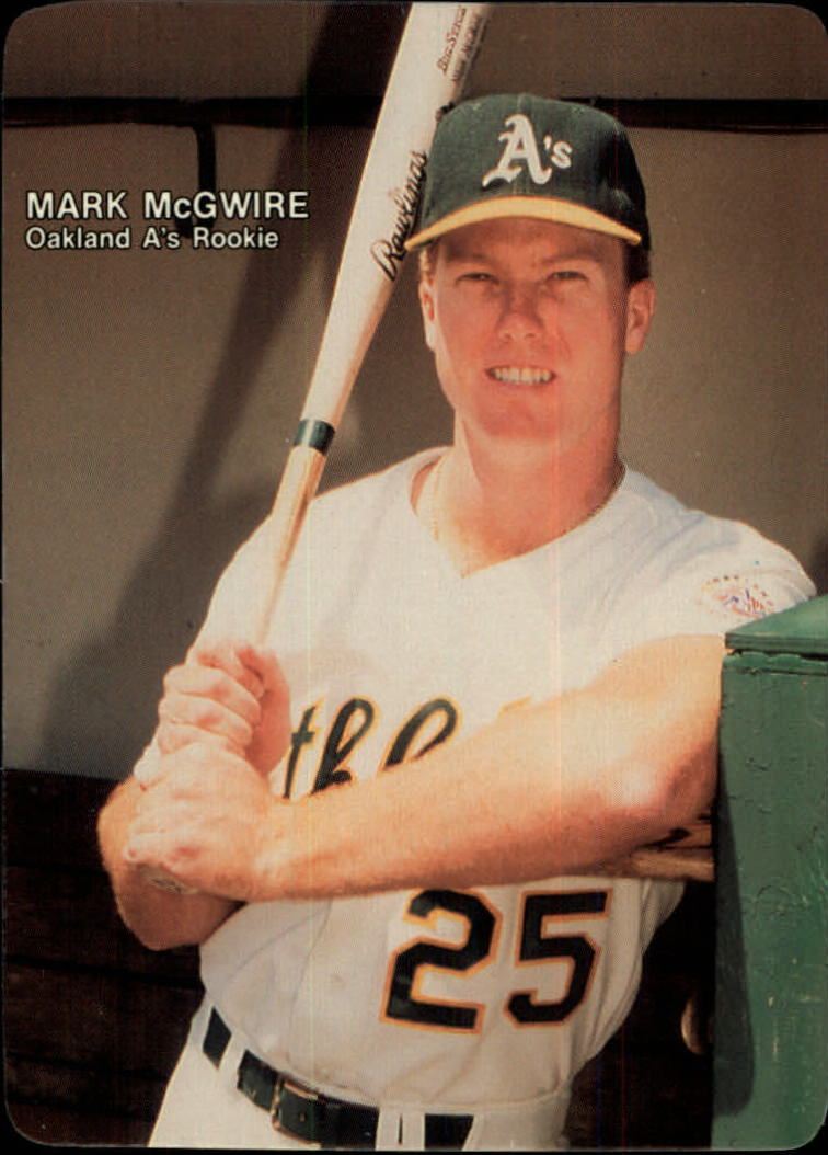 1987 Mother's McGwire #2 Mark McGwire/(Waist up/holding bat)