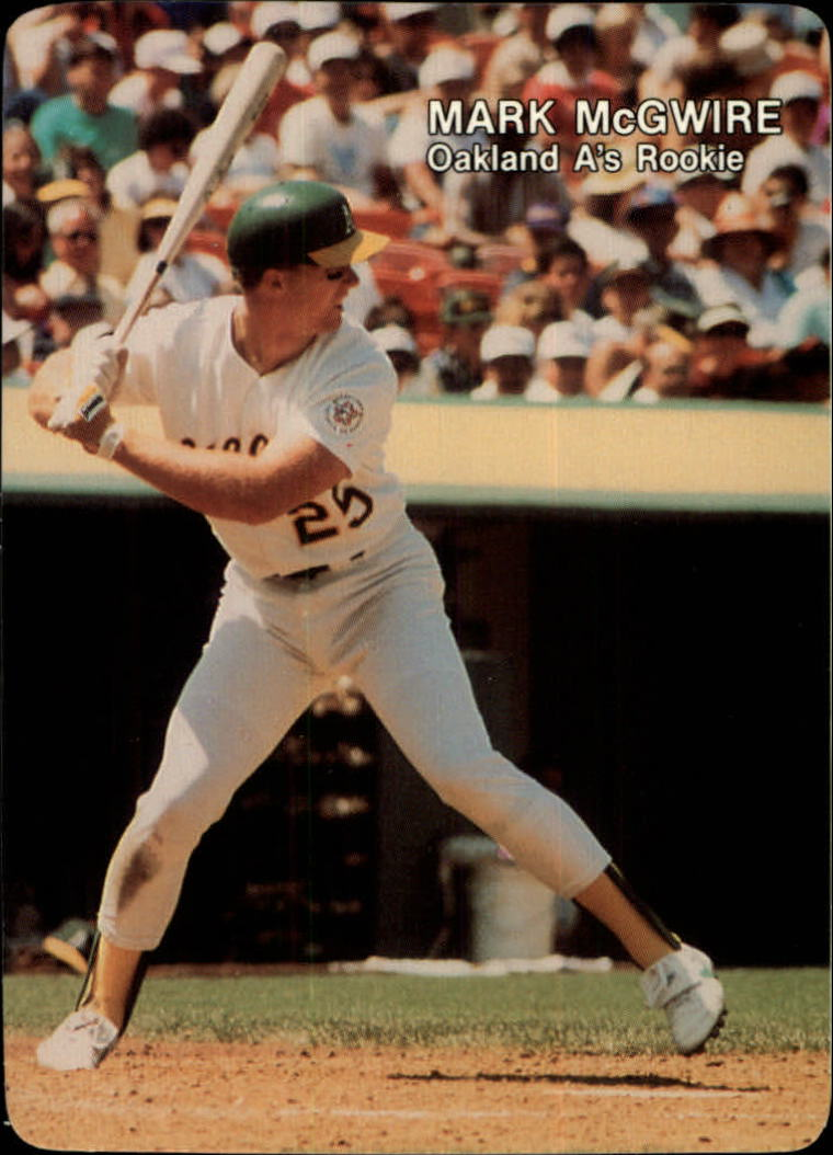1987 Mother's McGwire #3 Mark McGwire/(Batting stance/ready to swing)