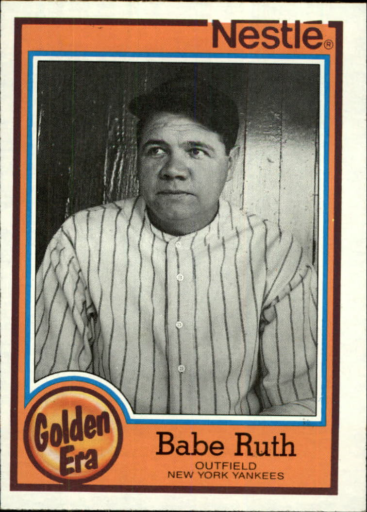 1987 Nestle Dream Team #5 Babe Ruth