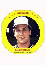 1987 Our Own Tea Discs #14 Cal Ripken
