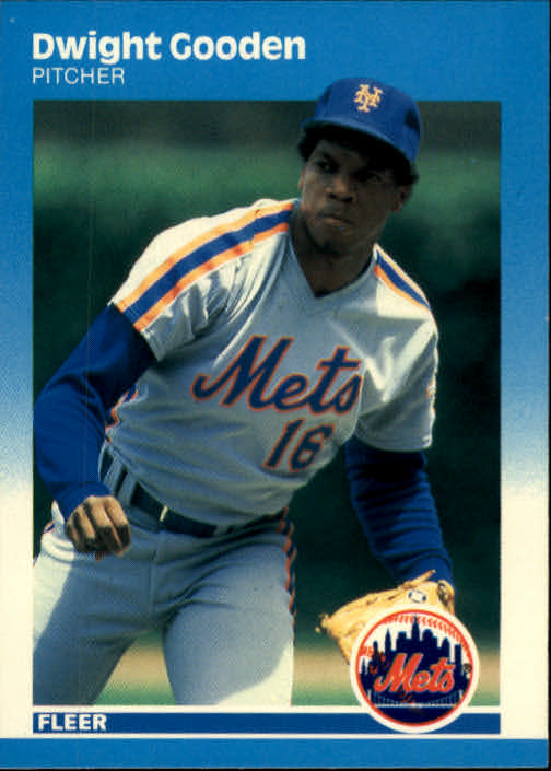 1987 Fleer #9 Dwight Gooden