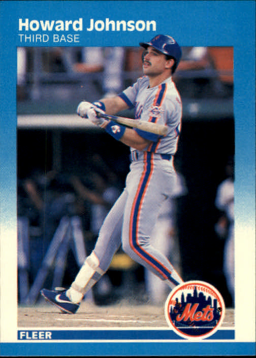1987 Fleer #13 Howard Johnson