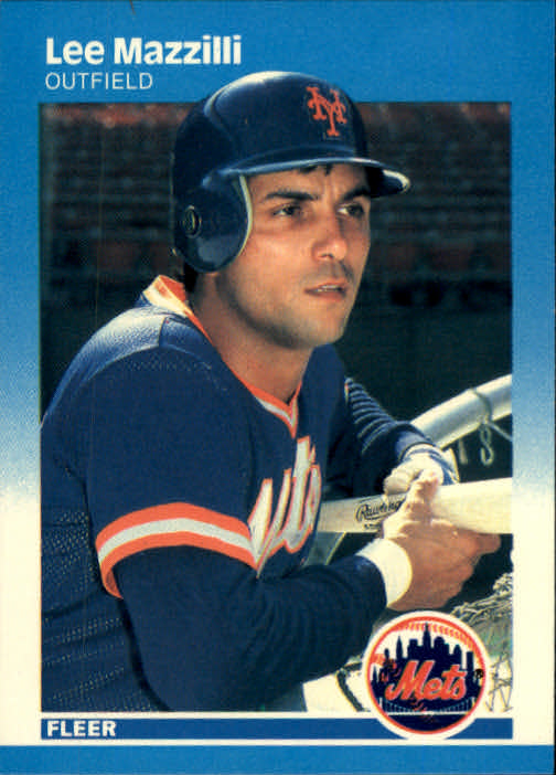 1987 Fleer #15 Lee Mazzilli