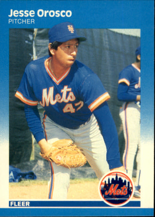1987 Fleer #20 Jesse Orosco