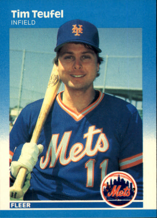1987 Fleer #24 Tim Teufel
