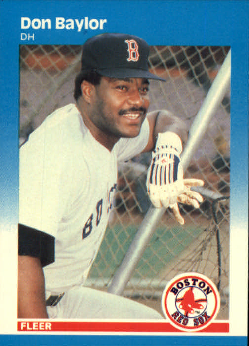 1987 Fleer #28 Don Baylor